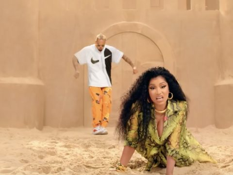 Chris Brown Nicki Minaj Wobble Up