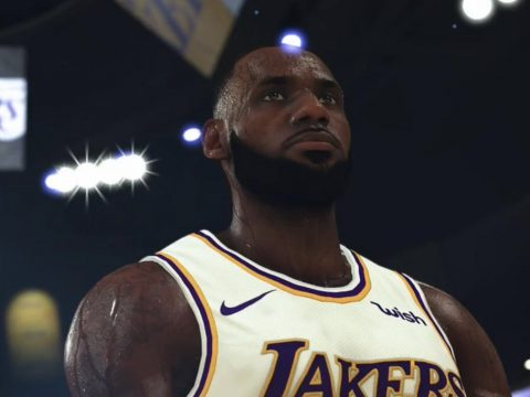 LeBron James NBA 2K20