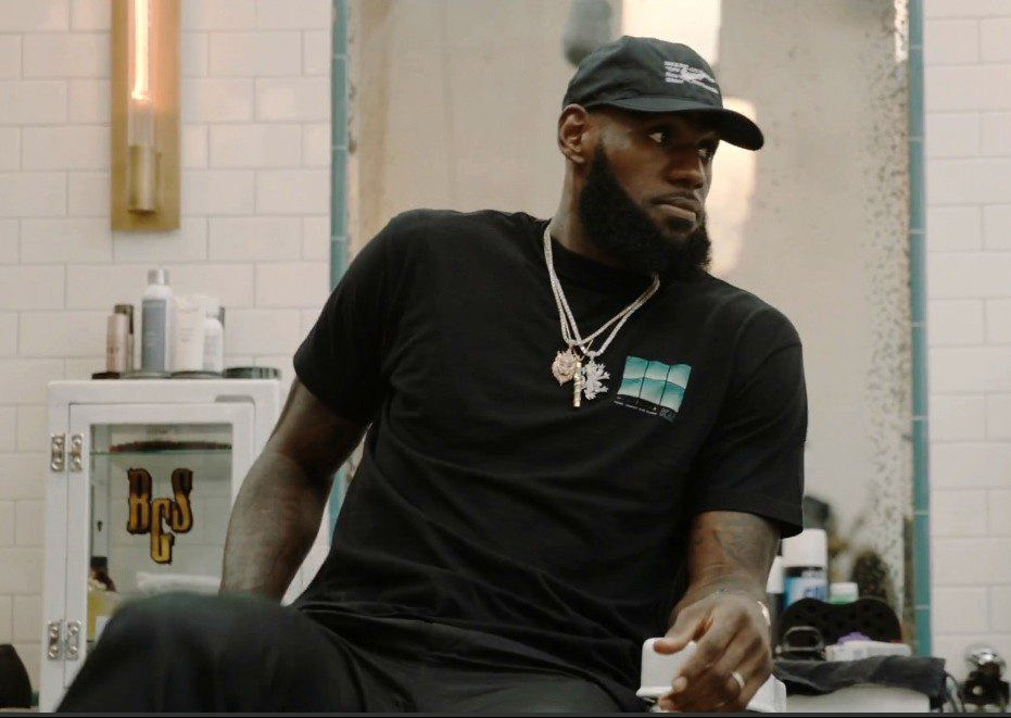 LeBron James The Shop HBO