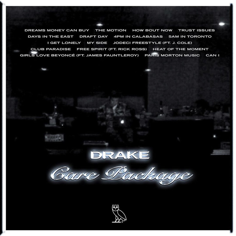 Care Package Tracklisting