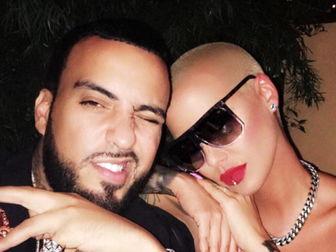 French Montana Amber Rose