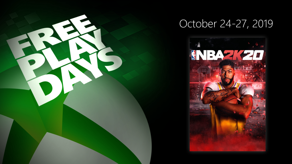 NBA 2K20 Free Play Days