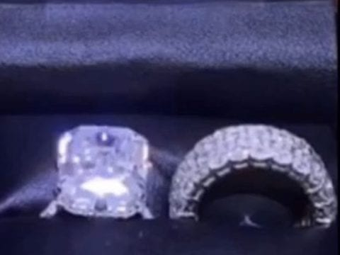 Nicki Minaj Wedding Ring Video