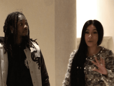 Offset Cardi B Footage Together