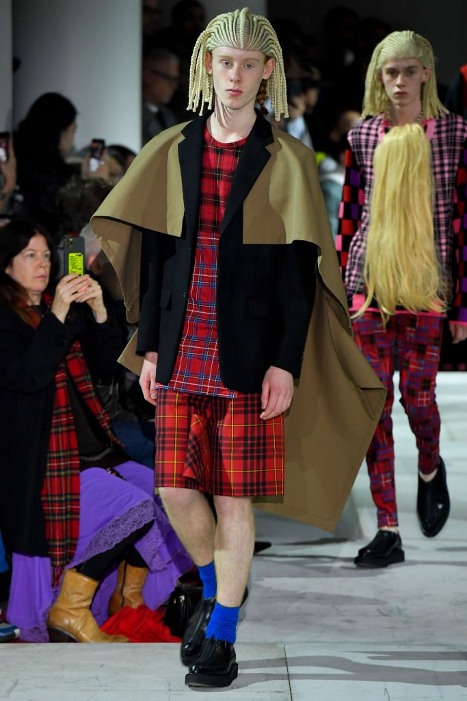Comme Des Garcons Homme Plus : Runway - Paris Fashion Week - Menswear F/W 2020-2021