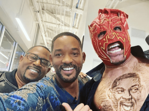 Martin Lawrence Will Smith Selfie Pic