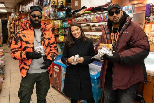 Desus Nice and The Kid Mero explore the Bronx with Alexandria Ocasio-Cortez