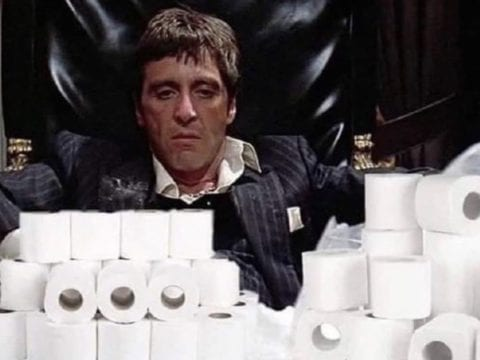 50 Cent Scarface Toilet Paper