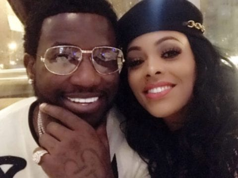 Gucci Mane Keyshia Ka'oir Selfie Together