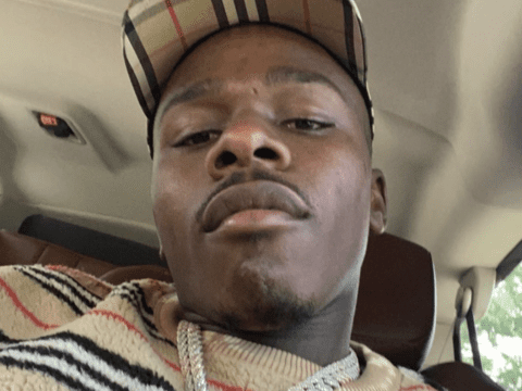 DaBaby Selfie Burberry Pic