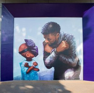 Disneyland Debuts 'King Chad' Mural at Downtown Disney